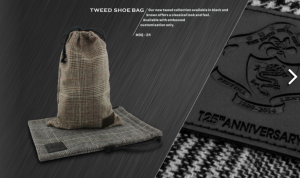 TWEETED SHOE BAG